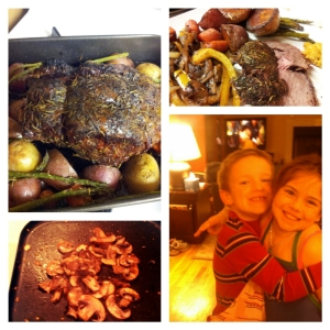 New Year's Eve Long-Distance Ribeye Roast Cook-Off